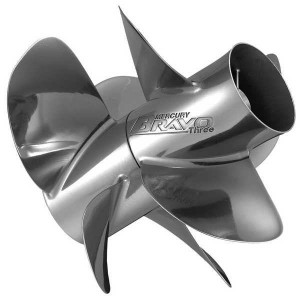 Quicksilver Thunderbolt IPS Rear Propeller 3 High Polished Stainless