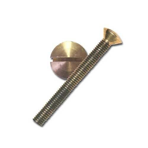 Oval Slotted Head Bolt Bronze OVHD031X550OH