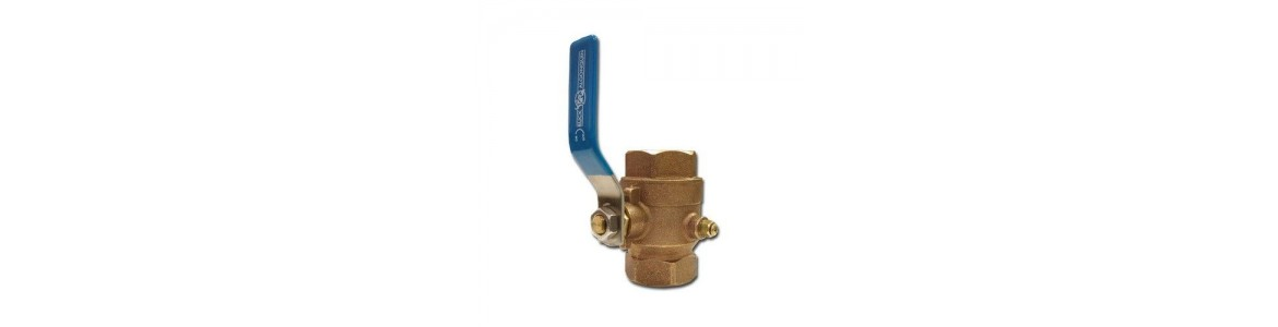 Bronze Low Profile Ball Valves