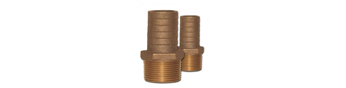 Bronze Pipe to Hose Adapters