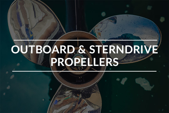 Outboard and Sterndrive Propellers